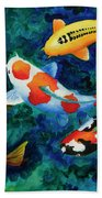 Koi Group Beach Towel