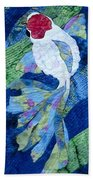Koi Serenity Beach Towel