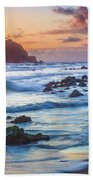 Koki Beach Harmony Beach Towel by Inge Johnsson