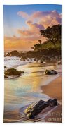 Koki Beach Sunrise Beach Towel by Inge Johnsson