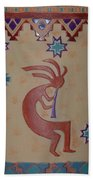 Kokopelli Beach Towel