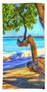 Kona Morning Glow Beach Towel