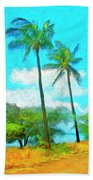 Kona Palms Beach Towel