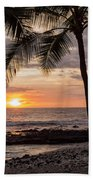 Kona Sunset Beach Towel by Brian Harig