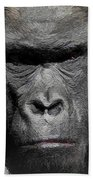 Kong Of The Jungle - Painted Beach Towel
