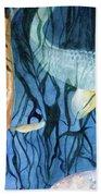 Kooky Koi Beach Towel