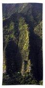 Koolau Range, Oahu Beach Towel