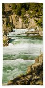 Kootenai River Beach Towel
