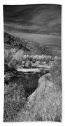 Kootenai Wildlife Refuge In Infrared 4 Beach Towel