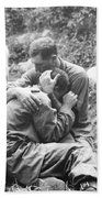 Korean War, 1950 Beach Towel