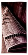 Koto - Japanese Harp Beach Towel