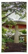 Krider Garden Mushroom Beach Towel
