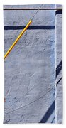 Krishna Blue Beach Towel