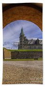 Kronborg Castle Through The Archway Beach Towel