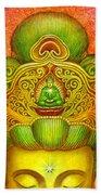Kuan Yin's Buddha Crown Beach Sheet