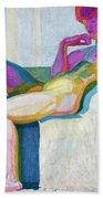 Kupka Planes Nude Beach Towel