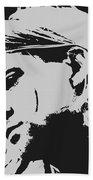 Kurt Cobain Poster Art Beach Towel