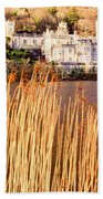 Kylemore Abbey, County Galway Beach Towel