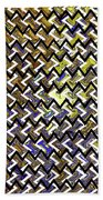 L T Z Abstract Beach Towel