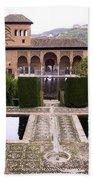 La Alhambra Garden Beach Towel