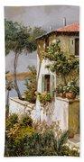 La Casa Giallo-verde Beach Sheet