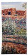 La Cueva New Mexico Beach Towel