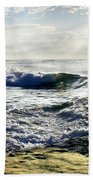 La Jolla Towards Casa Cove Beach Towel