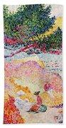 La Plage De Saint-clair Beach Towel
