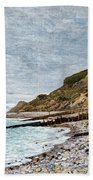 La Point De La Heve, Sainte Adresse Beach Towel