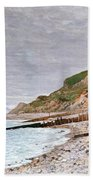 La Pointe De La Heve Beach Towel