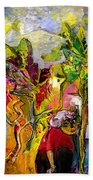 La Provence 05 Beach Towel