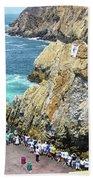La Quebrada Beach Towel