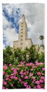 La Temple Pink Beach Towel