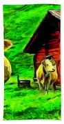 La Vaca Beach Towel
