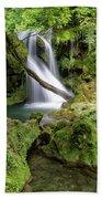 La Vaioaga Waterfall Beach Towel