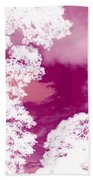 La Vie En Rose Beach Towel