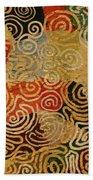 Labyrinth Beach Towel
