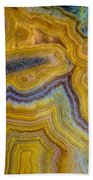Lace Agate Stone 4 Beach Towel