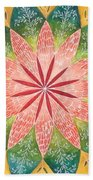 Lacey Petals Mandala Beach Towel by Andrea Thompson