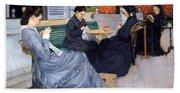 Ladies Sewing Beach Towel
