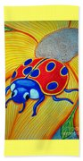 Lady Bug Beach Towel