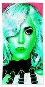 Lady Gaga Beach Towel