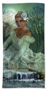 Lady Of The Lake  Beach Towel