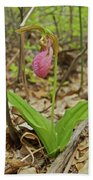Lady Slipper 2037 Beach Towel