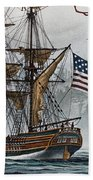 Lady Washington Beach Towel