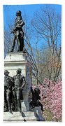 Lafayette Square Named For General Marquis Gilbert De Lafayette Beach Towel