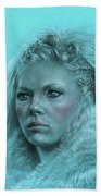 Lagertha Shieldmaiden Beach Towel
