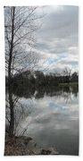 Lagoon Reflections 2 Beach Towel