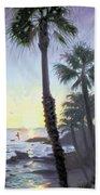 Laguna Sunset Beach Towel