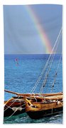Lahaina Harbor Beach Towel